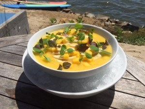 Recipe: The Surf Lodge's summer-licious Mango and Banana Smoothie Bowl