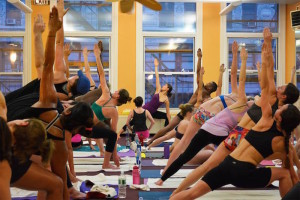 Is your subway station hot enough for Bikram yoga?