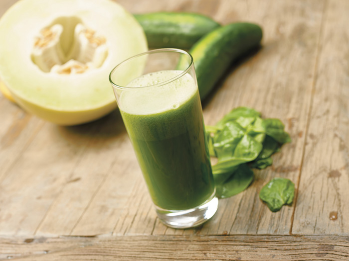Honeydew watercress green juice