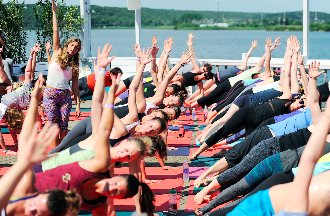 Surfside Salutations yoga