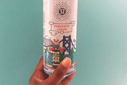"Lululemon is launching a post-workout beer called ""Curiosity Lager"""