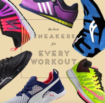 The best sneakers for every workout