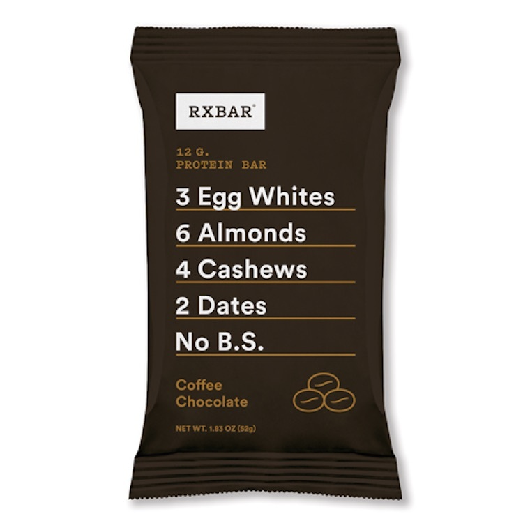 coffee chocolate rx bar