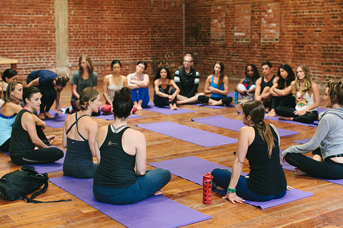 Schuyler Grant yoga teacher training