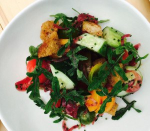 Recipe: Make this dining hotspot's easy Panzanella Salad before Labor Day