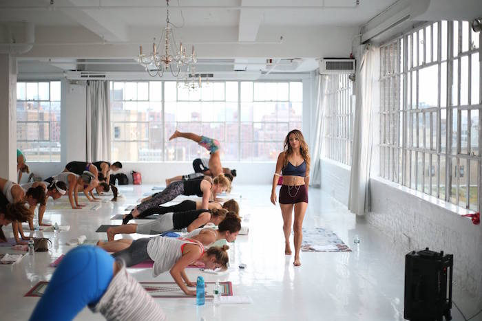 Where in-the-know yogis are going for vinyasa with amazing city views