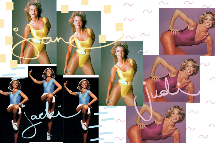 aerobics pioneers Jane Fonda Jazzercize