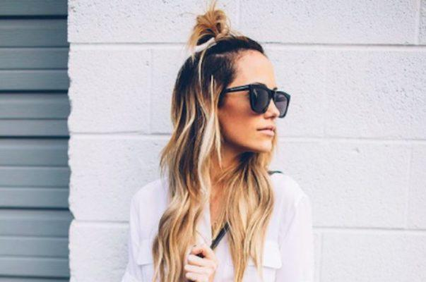 Thumbnail for The half bun: 9 ways to wear the hairstyle of the moment