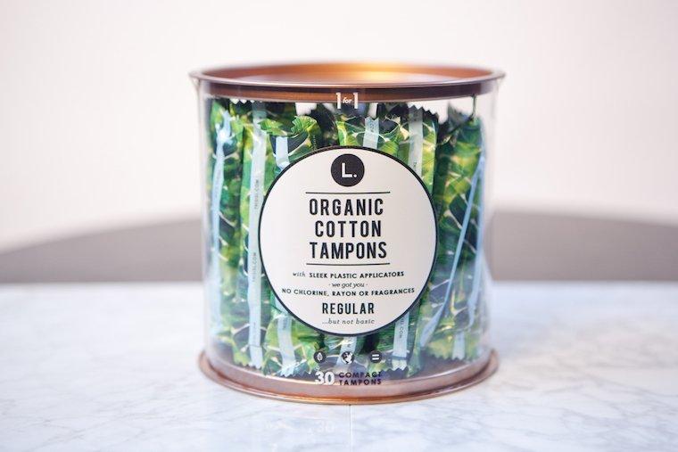 l organic tampons