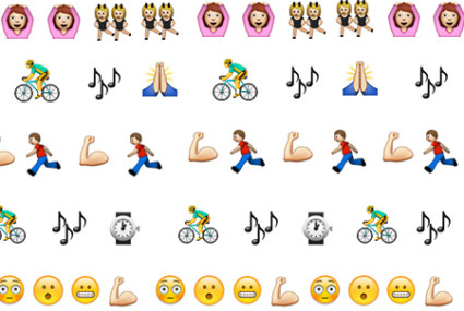 12 popular New York City boutique workouts—in Emojis