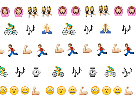 Workout Emojis For 12 Top New York City Studios Well Good