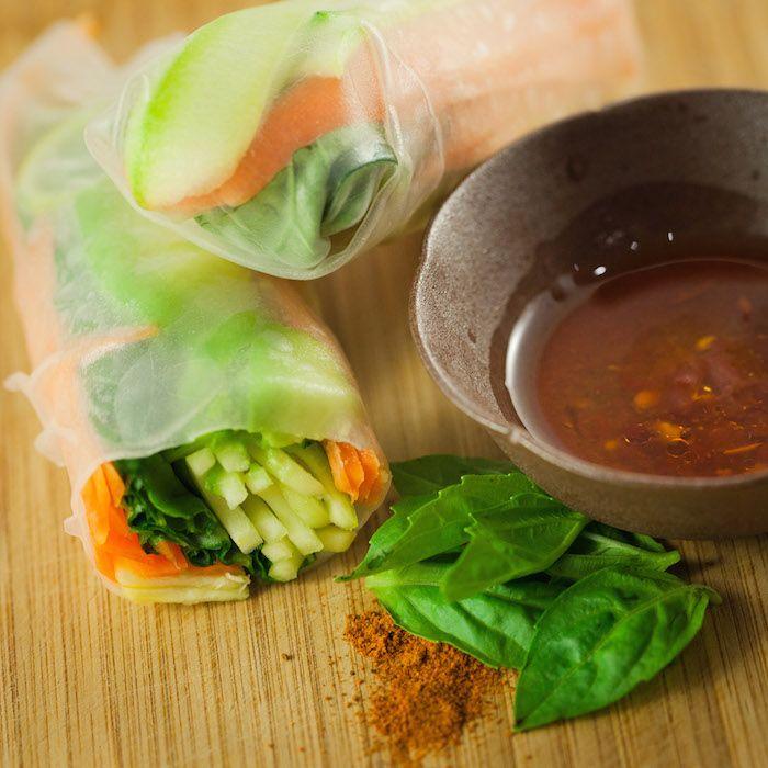Coconut Mushroom Salad Roll_1