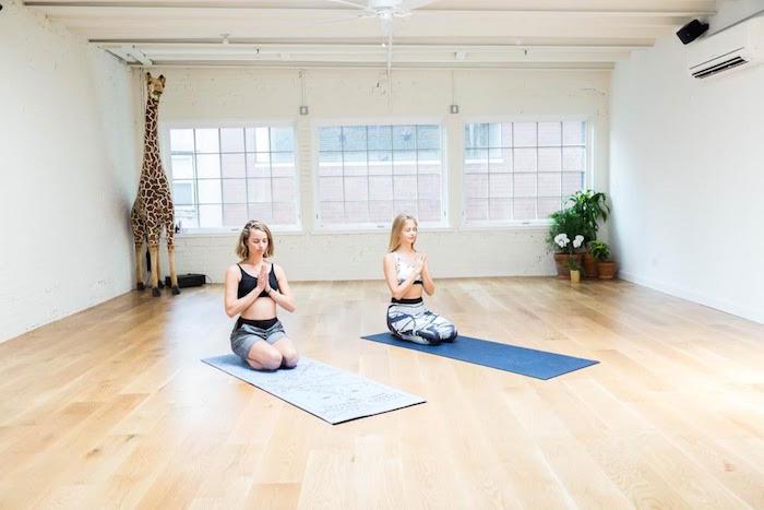 sky ting yoga