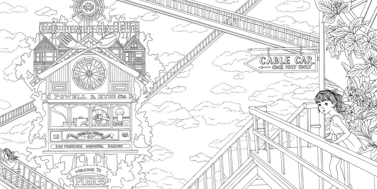 How Adult Coloring Books Can Be Meditative