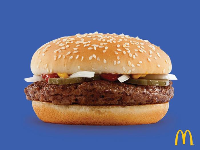 mcdondalds burger