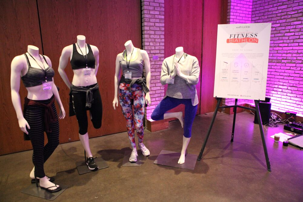 athleta showcase