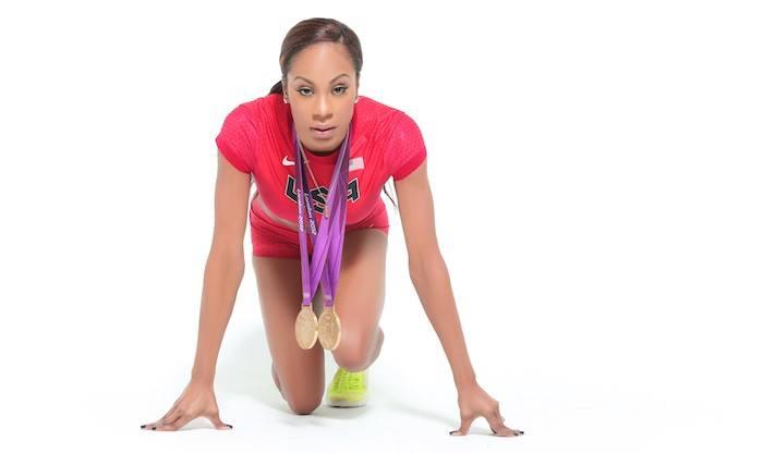 Sanya Richards Olympic athlete