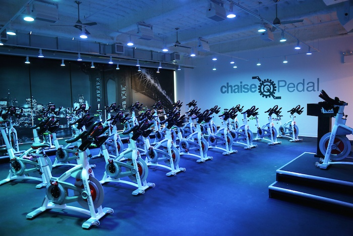 Financial District spinning and Pilates