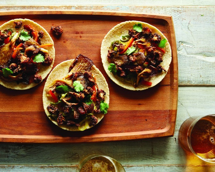 Food52 Vegan_Cauliflower and Oyster Mushroom Tacos