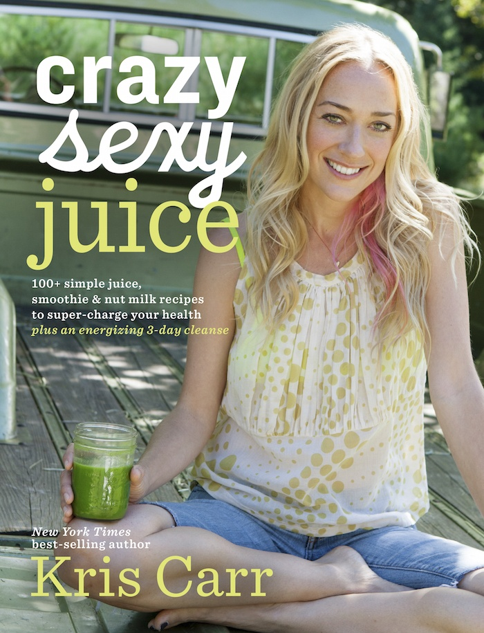 Kris Carr-Green Juice Recipe 2