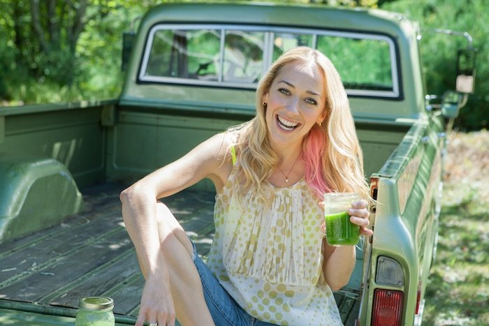 Kris Carr-Green Juice Recipe