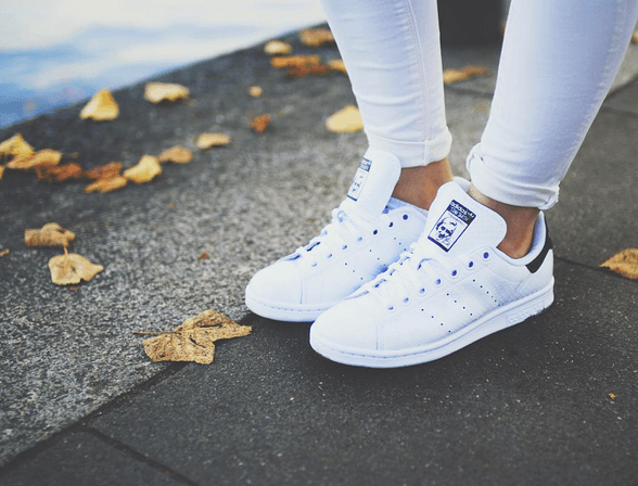 how to style stan smith sneakers well good. Black Bedroom Furniture Sets. Home Design Ideas