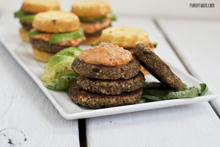Veggie Plantain Burger