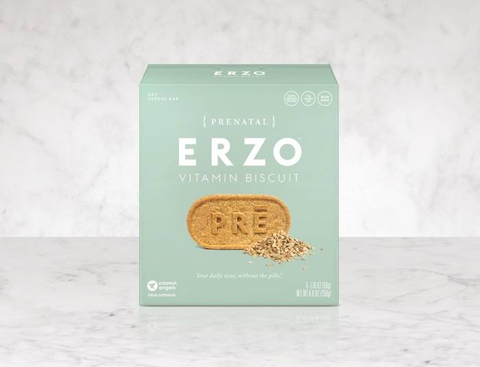 Erzo Foods chewable prenatal vitamins