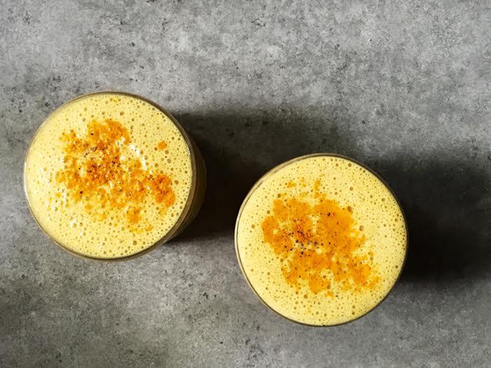 The tasty turmeric milkshake recipe for a head-to-toe boost