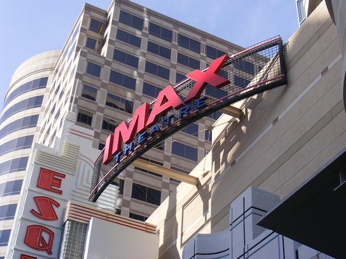 IMAX spin studio
