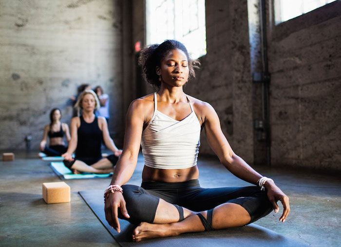 There are no ouchy zippers or overly-tight bras in Manduka's debut yoga collection