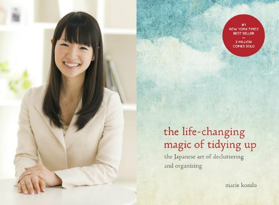 marie kondo 39 s popular book is becoming a tv show well good. Black Bedroom Furniture Sets. Home Design Ideas