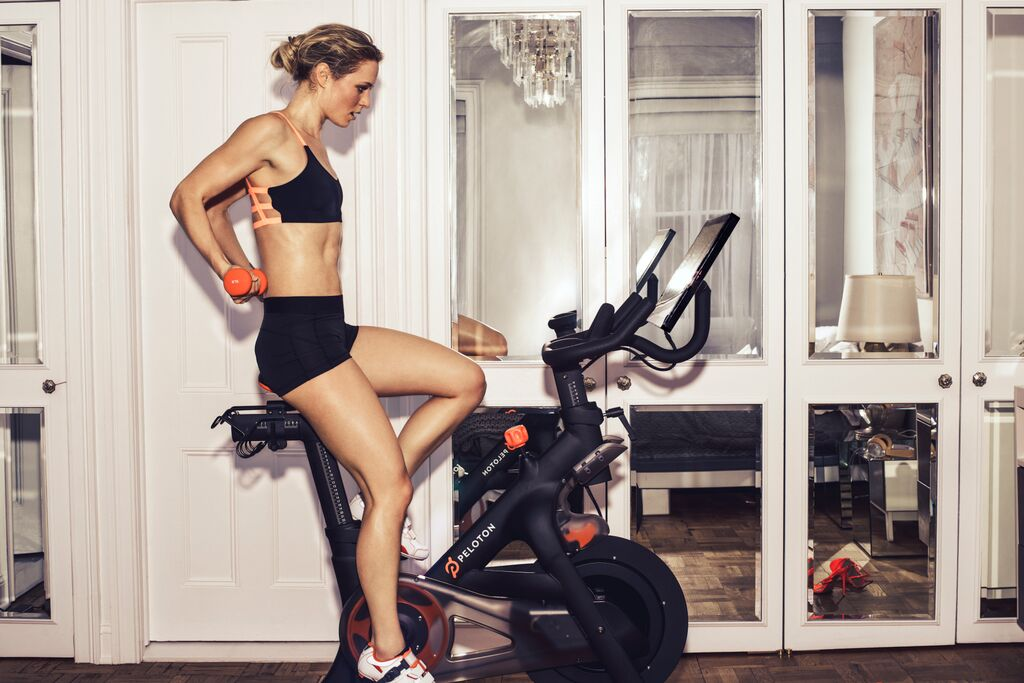 Peloton Bike Lifestyle Image