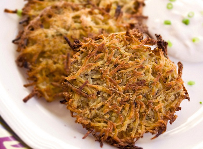 Scallion Ginger Latkes