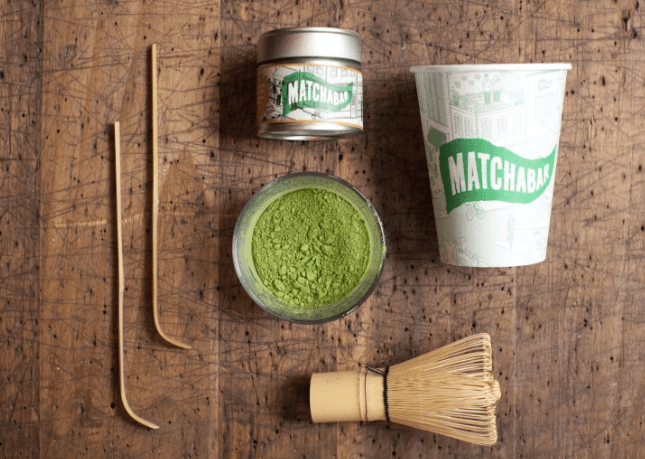 DIY latte by Matcha Bar