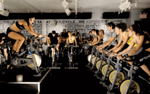 The music in your spin class is probably way too loud
