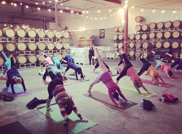 beer yoga 1