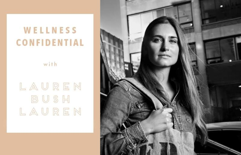 Wellness Confidential: Lauren Bush Lauren on feel-good cardio and never going Paleo
