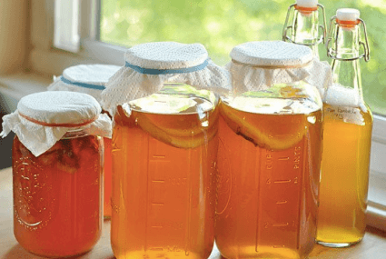 Can you get drunk on fermented tea?