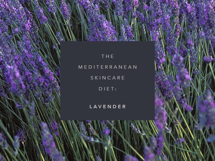 mediterranean skincare diet lavender
