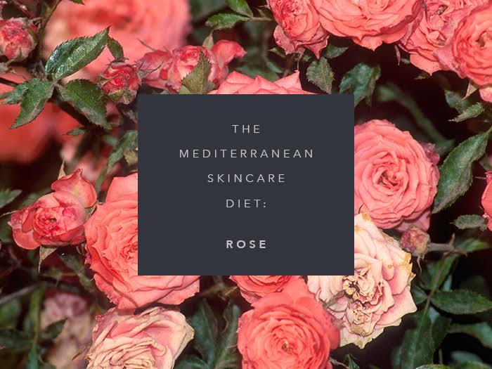 mediterranean skincare diet rose