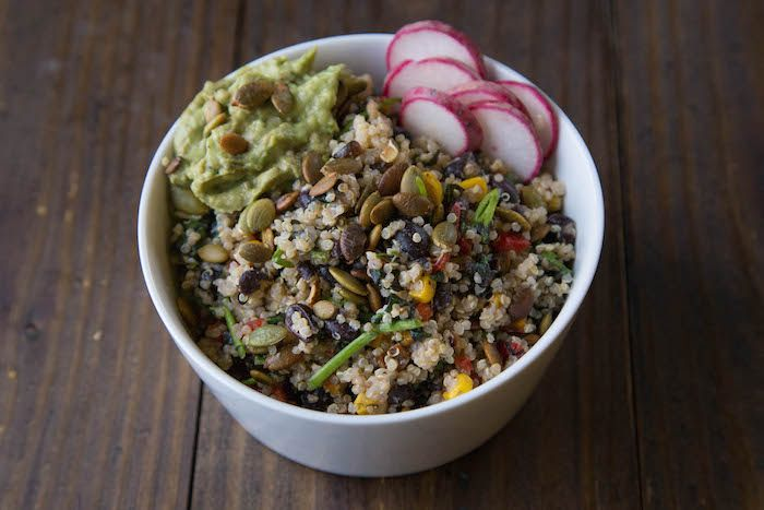 Blossom quinoa
