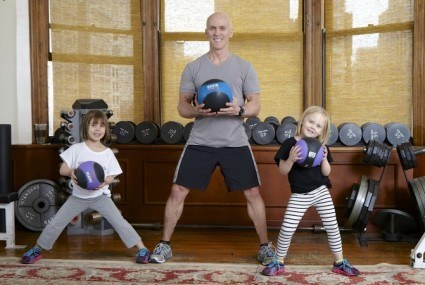 Celeb trainer David Kirsch's training advice is inspired by two tiny stars