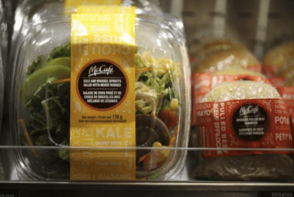 Are you sitting down? McDonald's will soon offer kale, quinoa, and edamame