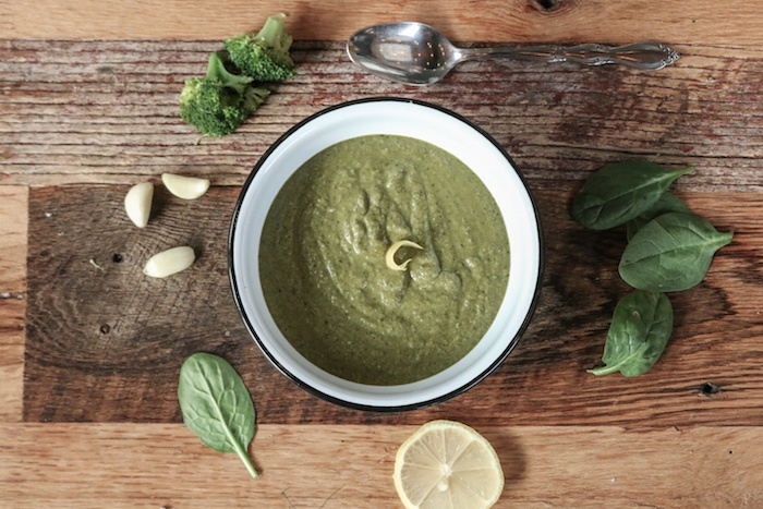 Smokey Broccoli Soup-1