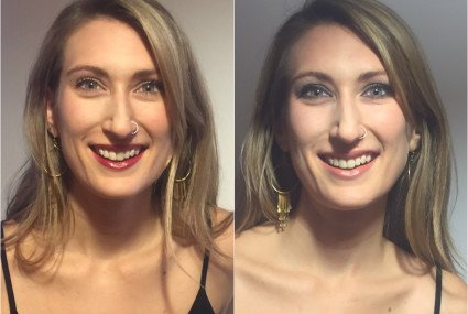 Two party-ready (easy!) makeup looks to master