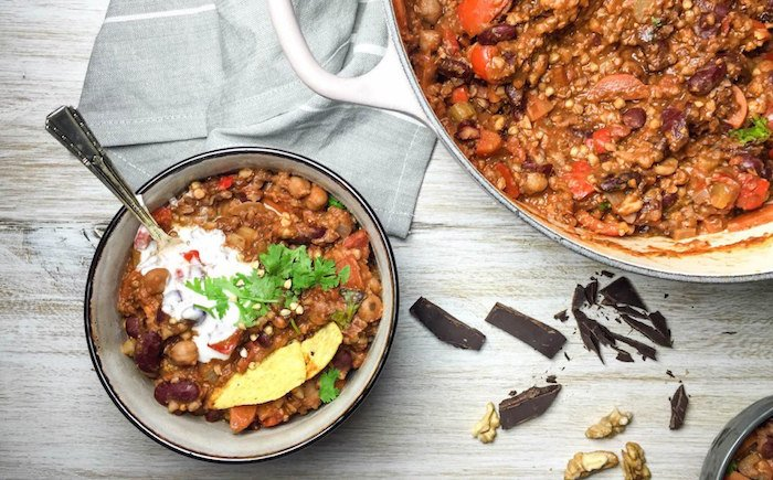 Bean and Buckwheat Chili