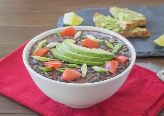 30-Minute Black Bean Soup Recipe — Dishmaps