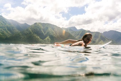 This pro surfer confirms that, yes, surfers' lives are the best