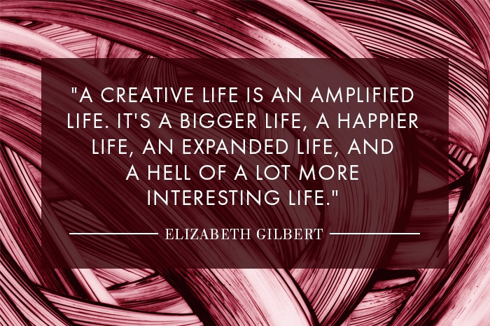 Why Elizabeth Gilbert wants you to lead a more creative life